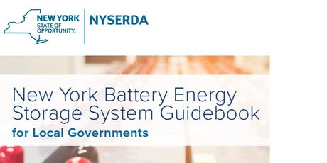 Battery Energy Storage Systems: Resources for Code Enforcement Officers tickets