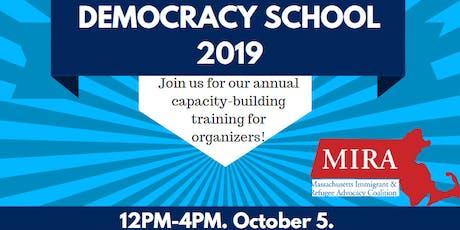 Democracy School: Boston tickets