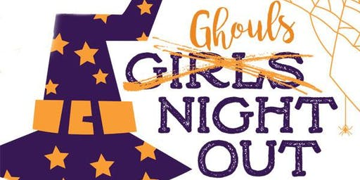 GHOULS (GIRLS) NIGHT OUT ON THE SQUARE | FALL 2019