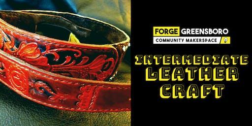 Intermediate Leathercraft