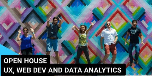 Open House - UX, WebDev and Data Analytics
