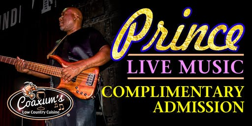 Prince Performing Live @ Coaxum's Low Country Cuisine