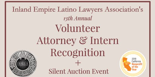 IELLA's 13th Annual Volunteer & Intern Recognition + Silent Auction Event