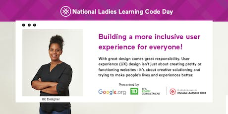 National Ladies Learning Code Day tickets