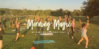 Morning Magic at Barton Springs