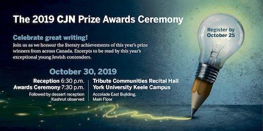 The CJN Prize Awards