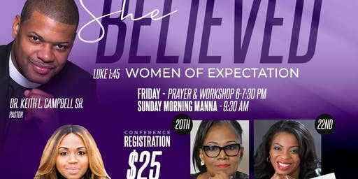 Women's Conference 2019 - SHE BELIEVED