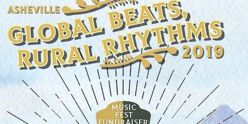 Global Beats, Rural Rhythms MusicFest Fundraiser Featuring Johnny Irion
