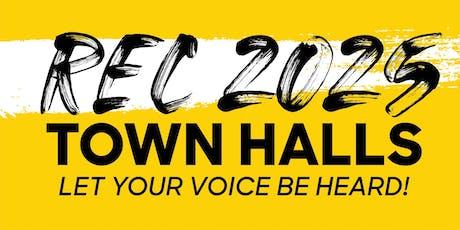 Rec 2025 TEEN Town Hall at Shake & Bake tickets