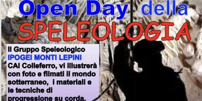 OPEN DAY della Speleologia Club Alpini Italiano a Colleferro