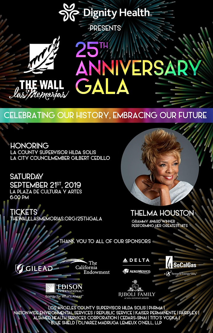 The Wall Las Memorias Project's 25th Anniversary Gala image