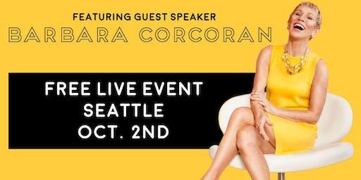(FREE) Shark Tank's Barbara Corcoran LIVE in Seattle!