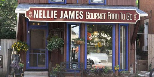 Dinner with Nellie James
