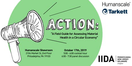 ACTION: A Field Guide for Assessing Material Health in a Circular Economy tickets