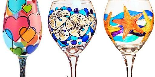 BYOB Wine Glass or Beer Mug Painting