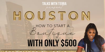 Talks with terra presents How To Start Your Own Boutique