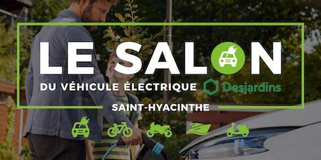 Salon du véhicule électrique Desjardins de Saint-Hyacinthe tickets