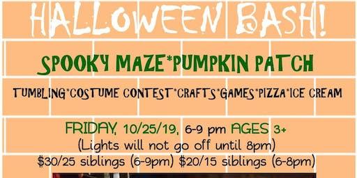 Halloween BASH! Friday 10/25 6-9pm