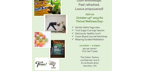 Thrive! Wellness Day tickets