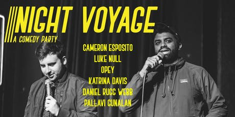 Night Voyage - A Comedy Party tickets