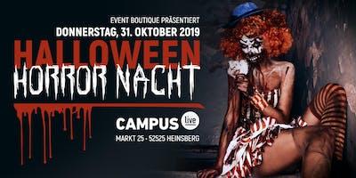 Halloween Horror Nacht • 31.10.10 • Campus Heinsberg