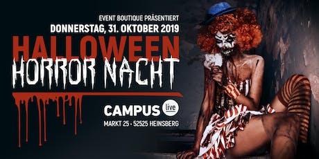 Halloween Horror Nacht • 31.10.10 • Campus Heinsberg tickets