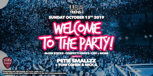 WELCOME TO THE PARTY - SUFFOLK, NY | 10.13.19