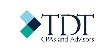 2019 TDT Tax Advisors Update tickets