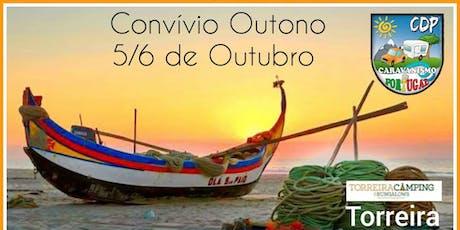 CDP Convívio de Outono, Torreira 2019 bilhetes