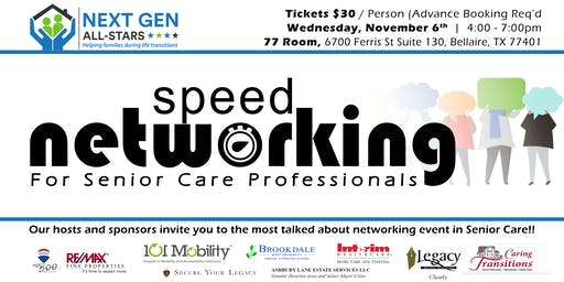 Speed Networking for Senior Care Professionals