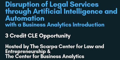 Artificial Intelligence & Machine Learning in Law tickets