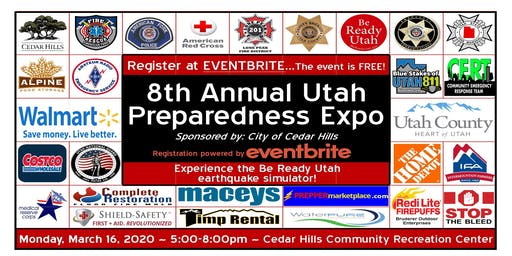 Free 8th Annual Utah Family Preparedness Expo