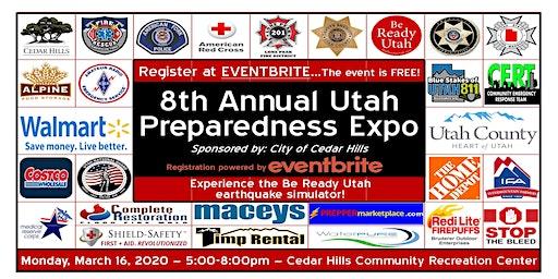 Free 8th Annual Utah Family Preparedness Expo