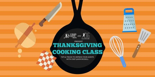 Thanksgiving Cooking Class with Jason Russell