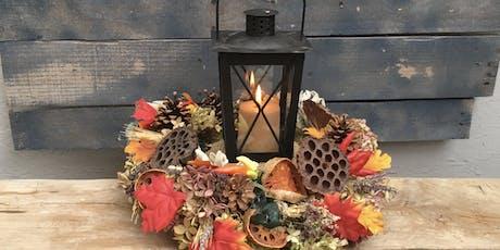 Fall Lantern Wreath tickets