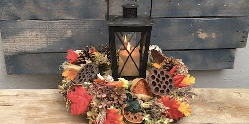 Fall Lantern Wreath