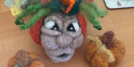 Felted Halloween Decorations