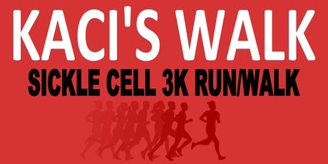 Kaci's Sickle Cell 3K Run/Walk tickets