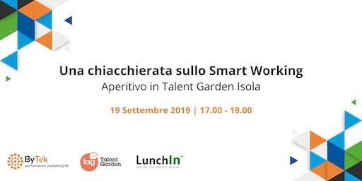 Una chiacchierata sullo smart working
