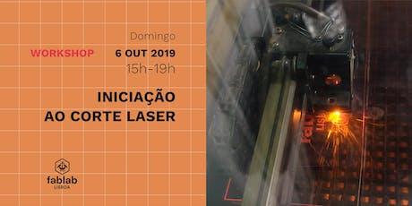 Iniciação ao Corte Laser bilhetes