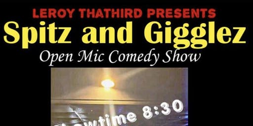 Spitz & Giggles Comedy & Poetry Show