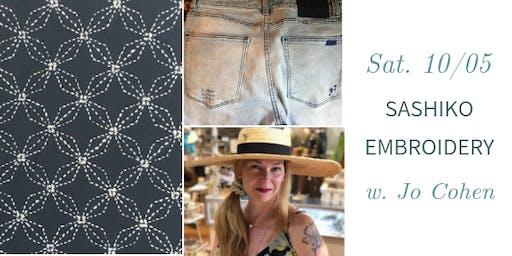 Sashiko Embroidery w. Jo Cohen - Traditional & Mending