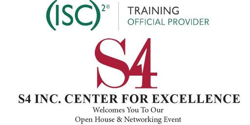 S4 Inc. & ISC2 Open House