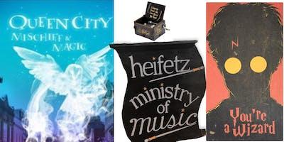 Heifetz Ministry of Music @ Queen City Mischief & Magic!