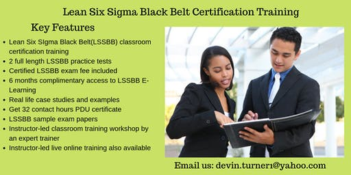 LSSBB Training in Jackson, MS