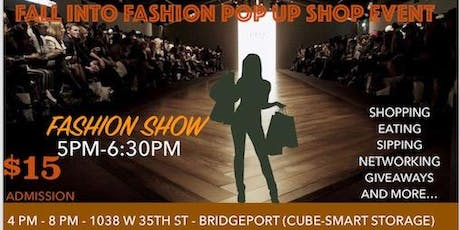 Fall into Fashion Pop-up/Fashion Show Event tickets