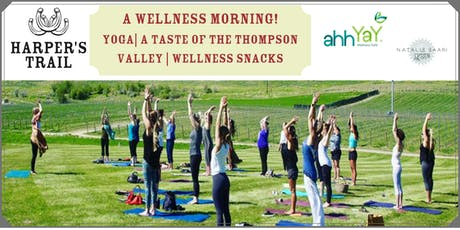 A Wellness Morning just for you! Yoga, Wine and delicious Snacks! tickets