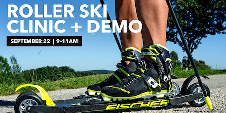 Roller Ski Introductory Clinic + Demo tickets