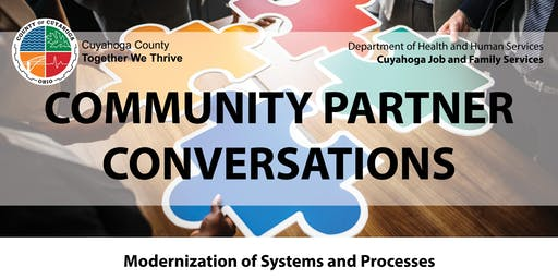 Cuyahoga Job and Family Services' Community Partner Conversation