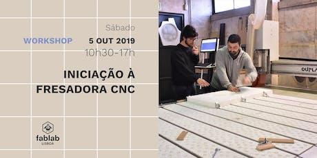 Iniciação à Fresadora CNC bilhetes